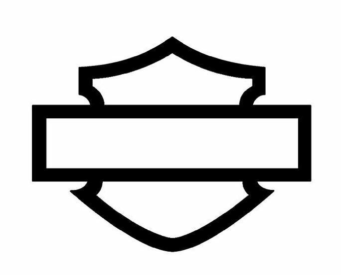 Harley Davidson Bar And Shield >> Harley Davidson Bar And Shield Vinyl Decal