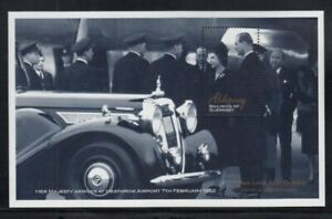 ALDERNEY 50th Anniversary of Reign of Queen Elizabeth II MNH souvenir sheet