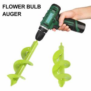 Garden-Spiral-Auger-Drill-Planter-Bulb-Shaft-Yard-Planting-Hole-Digger-Tool-E9G4