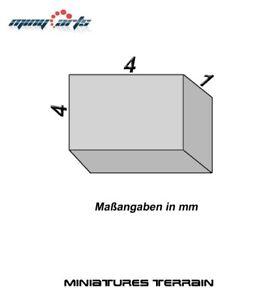 10-Magnete-Neodimio-Piazza-4-x-4-X-1-MM-Super-per-Modellismo-Mini-Permanentmag