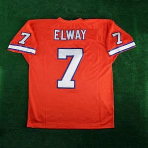 buy popular 0cbb4 500bd Details about 1994 John Elway Denver Broncos Mitchell & Ness Authentic  Orange Crush Jersey