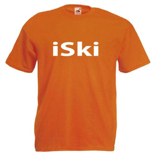 Ski Skiing Children/'s Kids T Shirt