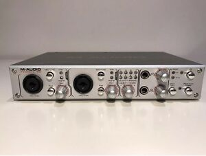 m audio 410 firewire interface with cable no power supply or software ebay. Black Bedroom Furniture Sets. Home Design Ideas