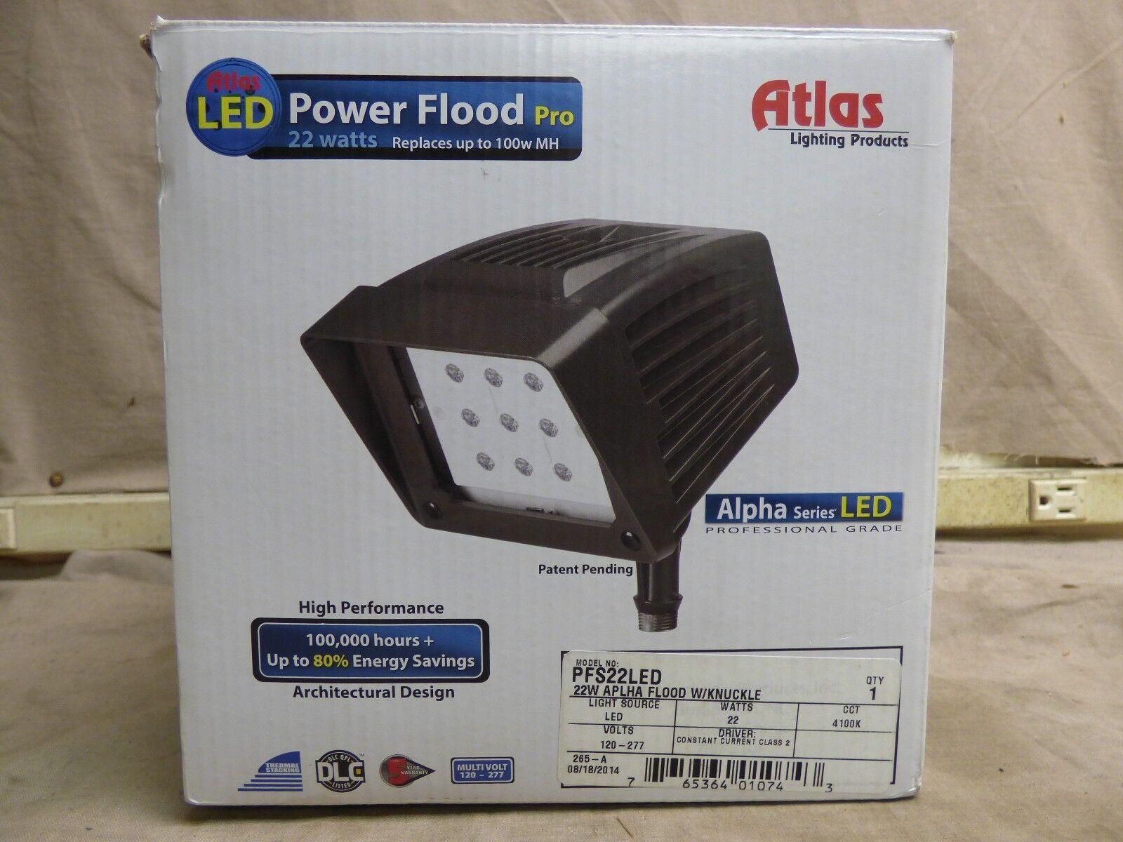Productos de iluminación Atlas PFS22LED 22 Vatios LED Luz de inundación Pro de alimentación  NUEVO