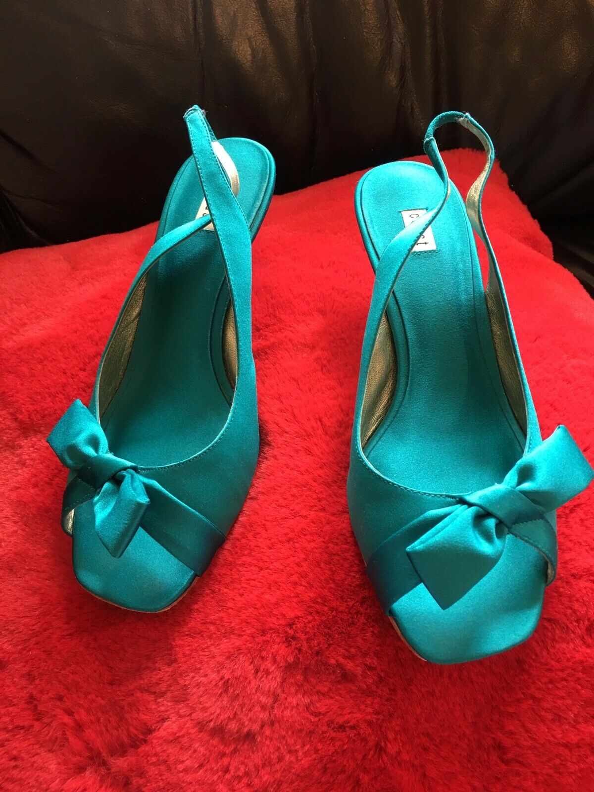 Coast Silky Shoes Size 7 Nice For Wedding Occasion Wear