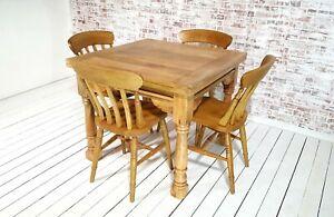 Extending Rustic Farmhouse Dining Table Set Drop Leaf Folding Ergonomic Ebay