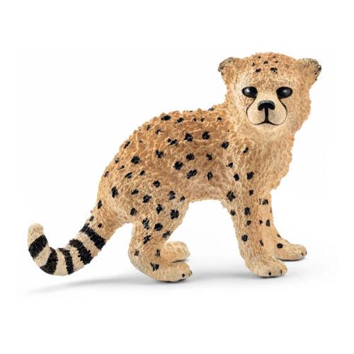 Schleich Wild Life GHEPARDO cucciolo Figura Giocattolo