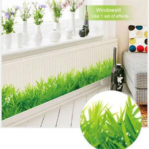 Platte gr ne wiese gras aufkleber wandsticker art aufkleber haus wohnzimmer deco ebay - Wandsticker wohnzimmer ...