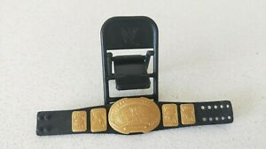 WWE-Inter-Continental-Belt-amp-Black-Foldable-Chair-for-Figurine-New-W-O-Tag