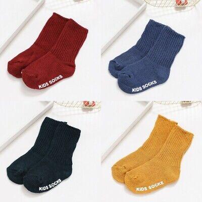 Winter Unisex Baby Kids Wool Socks Warm Thick Children Non-slip Floor Socks S