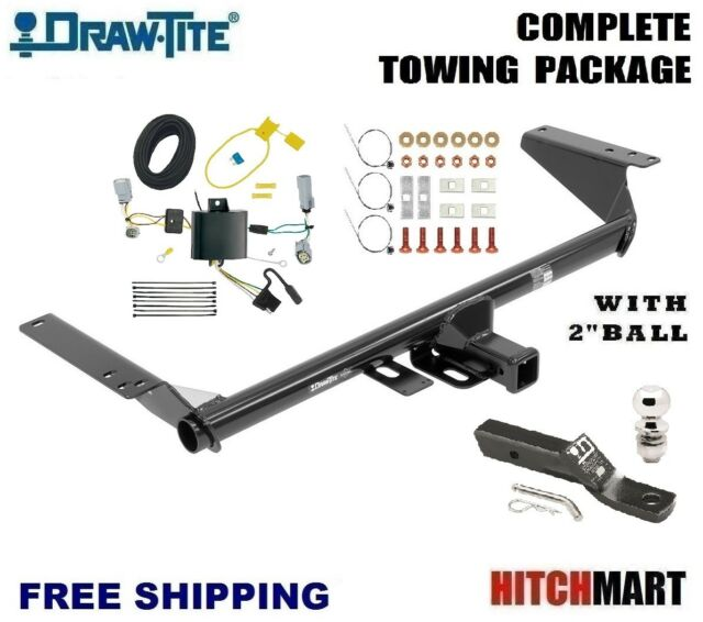 FITS 2017-2019 CHRYSLER PACIFICA TOURING TRAILER HITCH