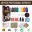 7 Strongman Tools28 Piece Professional Leather and Vinyl Repair Kit No Heat