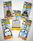 STAR WARS KEYCHAINS KEY RINGS R2D2 DARTH VADER CHEWBACCA STORMTROOPER STAR WARS