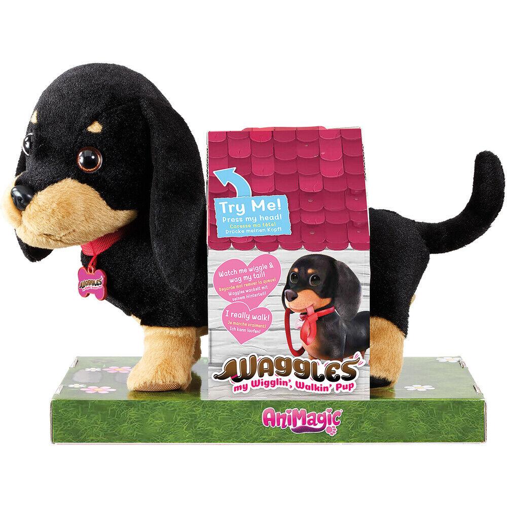 Animagic Waggles My Wigglin' Walking Pup Electronic Dog Toy - 31290