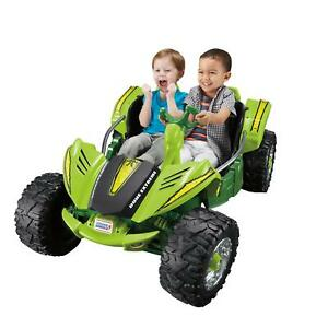 Details about Kids Toy Car Riding 2 Person Battery Power Ride On Dune Buggy  Fun Racer Green