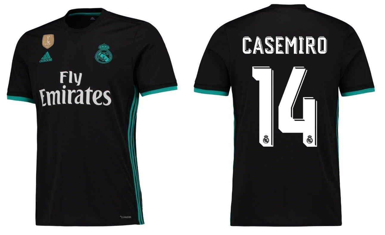 Trikot Adidas Real Madrid 2017-2018 Away WC - Casemiro 14