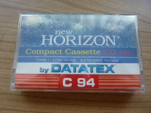 DATATEX C94 audiokassette cassette audio tape sealed