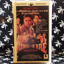 "RING OF FIRE (RING DE FUEGO) (Richard W. Munchkin) VHS . Don ""The Dragon"" Wilson"