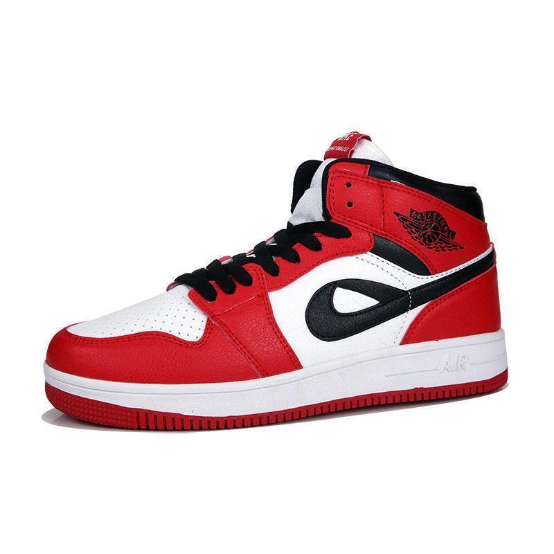 Hot Sale Men's Retro Basketball Badminton Tennis High Top Sneakers Shoes Fashion