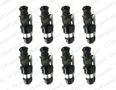 Set of 8 Delphi FJ10062 Injectors 99-07 GM 6.0L V8 25317628