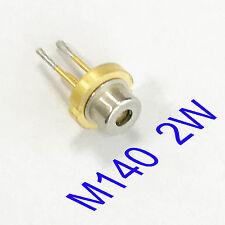M140 Nichia 450nm 2w Blue Laser Diodetin Pin56mm 1 Pcs