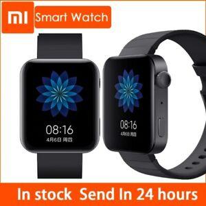 2021 New Xiaomi MI Smart Watch GPS NFC Bluetooth Heart Rate Monitor Tracker