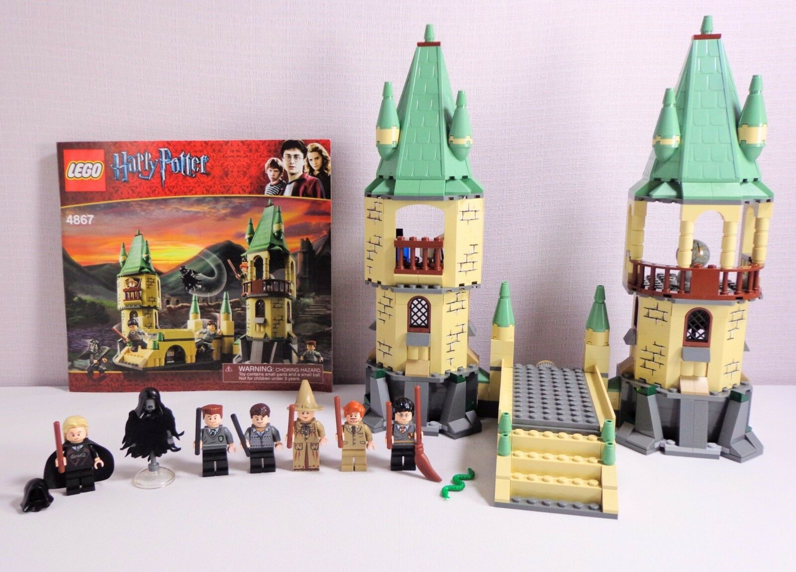Lego Harry Potter Hogwarts 4867 Set Complete 7 Minifigs No Box