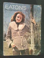 1975 - VINTAGE EATON'S FALL & WINTER CATALOG - 1975 - SEE FASHIONS & STYLES