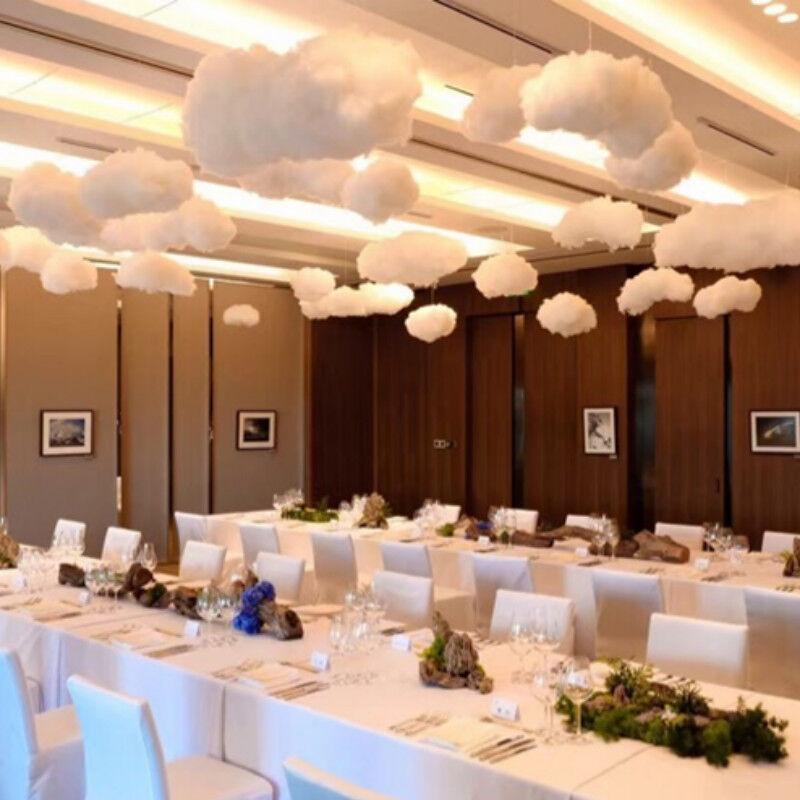 Artificial Cloud Celebration White Fake Cloud Modern Prom Stage Decor Fashion