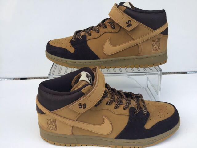 "huge discount 2ac19 aba6c Nike SB Dunk Mid Pro""Lewis Marnell""Cappuccino/ Bronze-Wheat Sz.10.5  (AJ1445-200)"