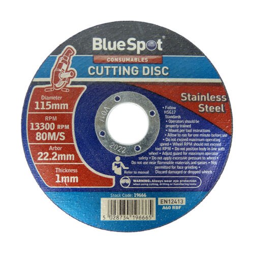 """Metal Cutting Discs 1mm Ultra Thin 4 1//2/"""" 115mm Angle Grinder Disc Steel"""