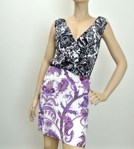 $1800 NEW Authentic Gucci Runway Silk Floral V-Neck Dress, 284032