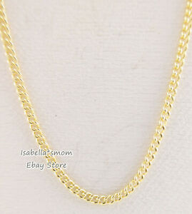 CURB CHAIN Authentic PANDORA Shine YELLOW GOLD Plated Necklace ...