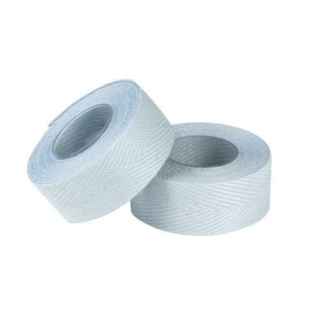 Tressostar White Cloth Bar Tape
