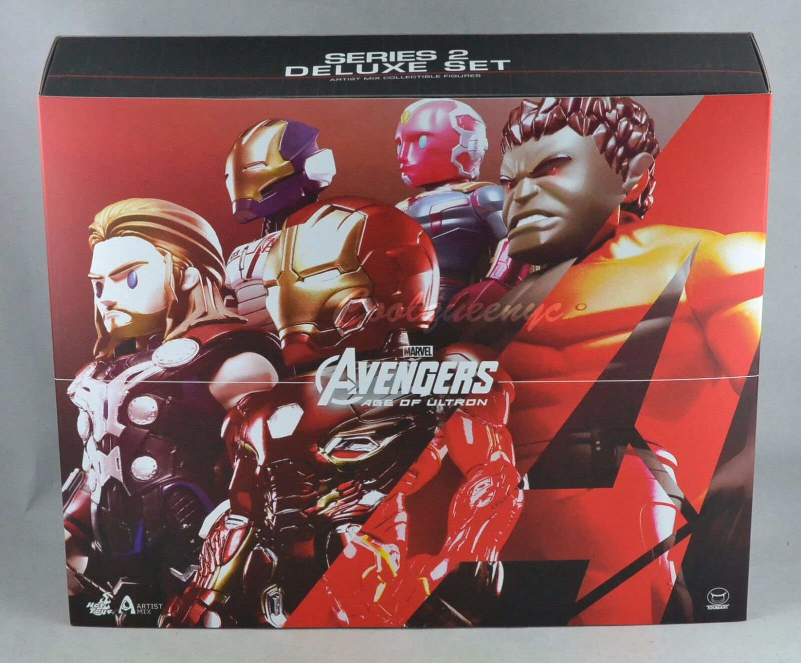 Hot Toys Artist Mix Avengers Age of Ultron Figures Series 2 Designed by Touma