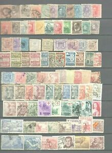 170-timbres-Espagne-dont-anciens