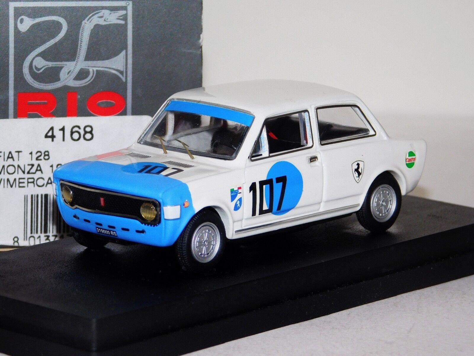 ¡envío gratis! Fiat 128  107 VIMERCATI Monza 1971 Rio Rio Rio 4168 1 43  echa un vistazo a los más baratos