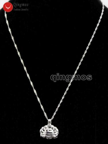 12 Constellation Gift 1 Box Cancer pendant Oyster Wish Pearl Necklace Set w3635