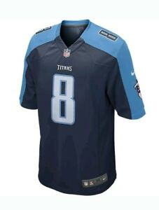 Nike Tennessee Titans Marcus Mariota  8 On Field Jersey Youth XL ... 82821cde2