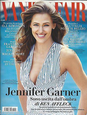 Vanity Fair magazine Jennifer Garner O.J. Simpson Macklemore Aaron Paul 2Cellos