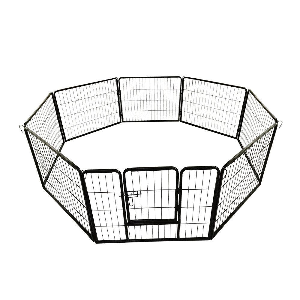 Petigi Valla libre Corriendo Jaula Perro Cachorro Animales Mascotas 60x80cm