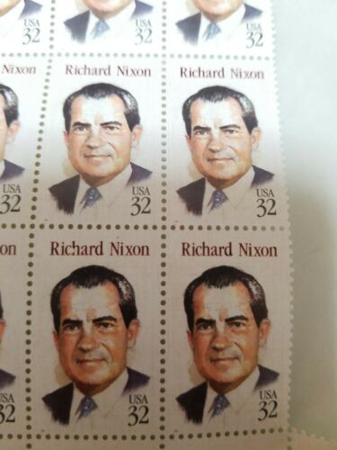 VINTAGE Richard Nixon stamp with jail envelope never used unattached