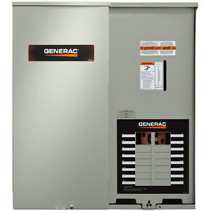 Transfer Switches > See more Generac 100 Amp Auto Transfer Switch NEMA