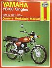 Yamaha YB100 Owners Workshop Manual by Pete Shoemark (Paperback, 1990)