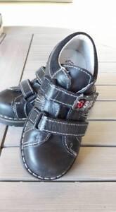 Gr zu Details Melania Schuhe Italien Jungen Melle Vesa Kinder Tech Neu Leder 24 SchwarzSix TPXiOZku