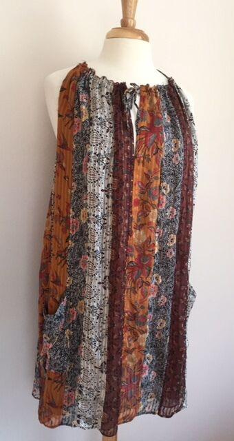 ISASBEL MARANT SZ FR 36  US 4 Färglösa Silkeskläder