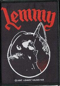 Motorhead-Lemmy-Microphone-Woven-Patch
