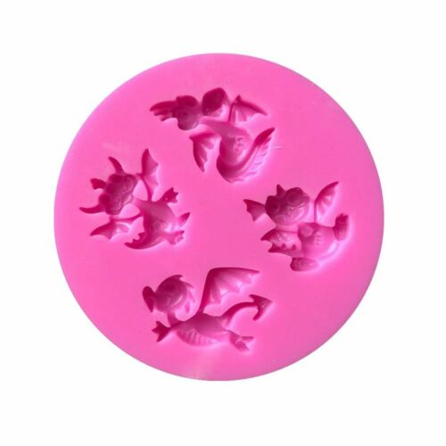 LITTLE DRAGONS SILICONE MOULE FORME chocolat confites Jelly Ice Cream Baking Tool
