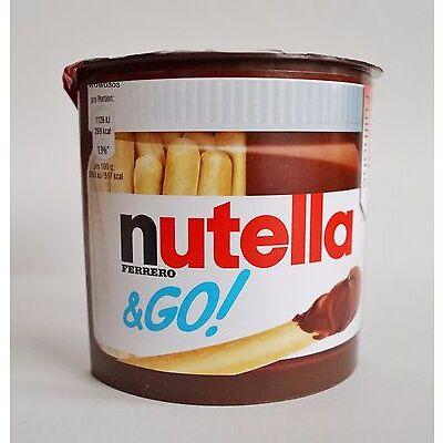Nutella Go Knusprige Brot Sticks und Nuss Nugat Creme 2 Stück  Schokoaufstrich