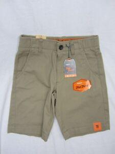 Urban Pipeline® Flat-Front Shorts Boys OH KHAKI BELT INCLUDED
